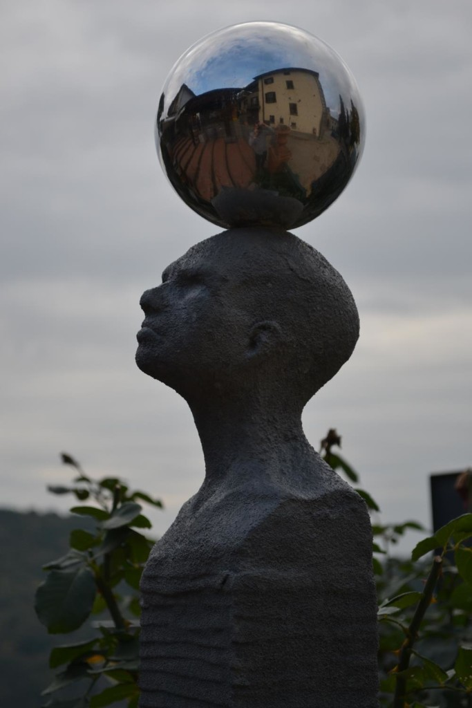 Fountain Head with Sphere